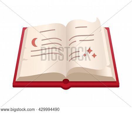 Spell Book - Creative, Modern Cartoon Style Object