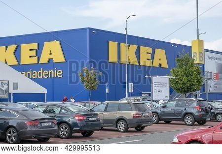 Bratislava, Slovakia - August, 14, 2021 : Ikea Furniture Retail Store. Ikea Has Been The World's Lar