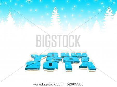 Winter New Year 2014