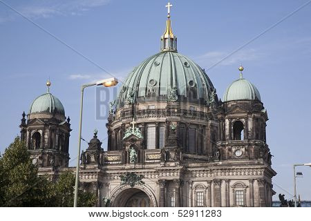 Berliner Dom Cathedral Church Dome; Berlin
