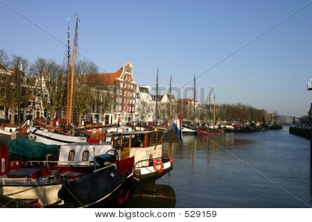 Boats In Canal