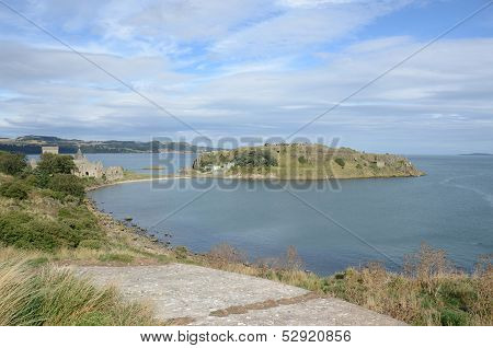 View over Inchcolm