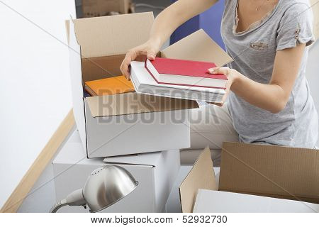 Woman Packing Herself