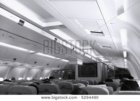 Aircraft Cabin View
