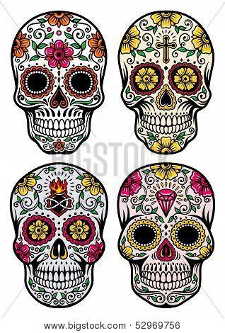 Día del Vector cráneo muerto