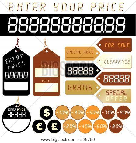 Price Tag - Illustration!