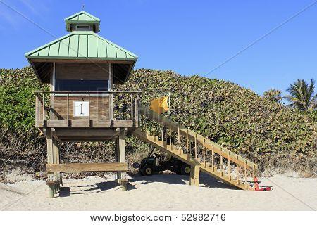 Boca Raton Lifeguard Tower 1