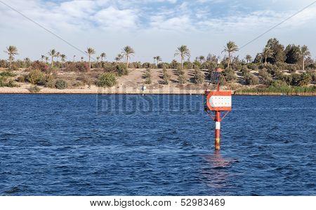 Suez Canal Navigation Marks