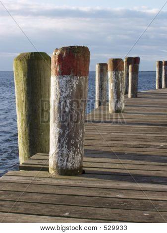 Morning Pier Vertical