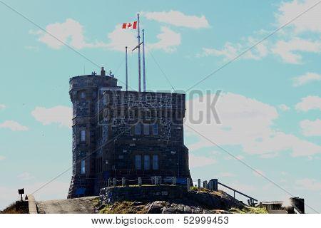 Cabot Tower St. John's Newfoundland Canada.