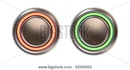 Push Buttons With Backlight