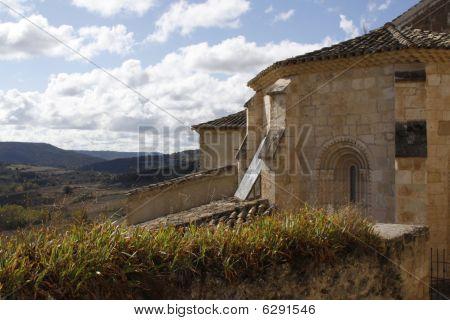 Old Romanic Chapell in Spain