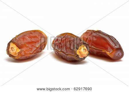Date Fruits Isolated