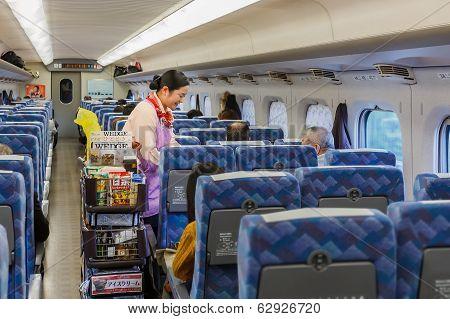 Food and Beverage on Hikari Shinkansen