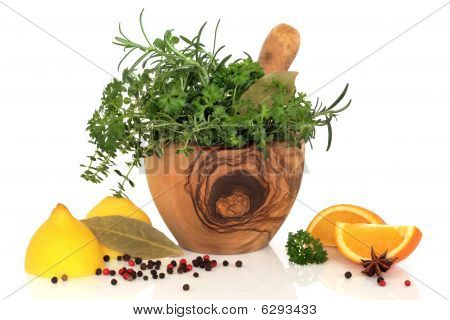 Herbs, Fruit and Spices
