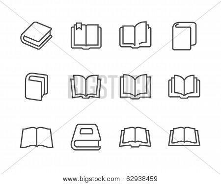 Books icons