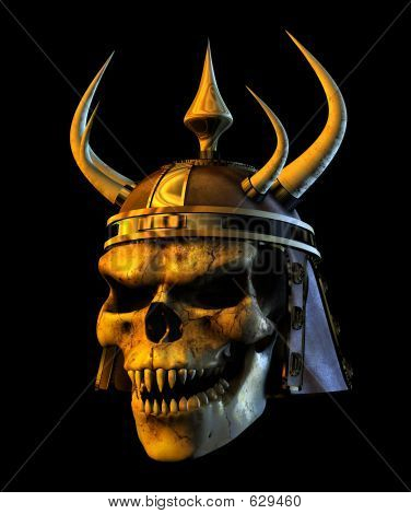 Demon Warmonger Skull