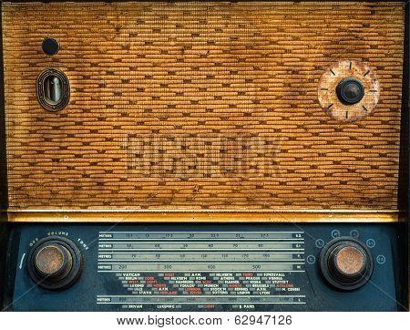 1950's vintage wireless radio