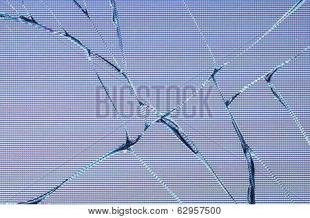 Broken LDC screen