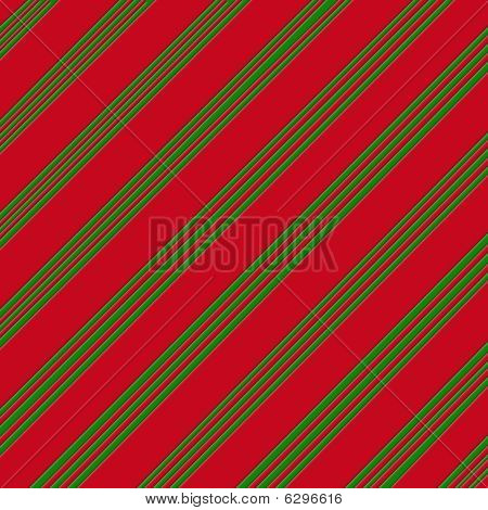 Candy Can Green and Red Striped Paper