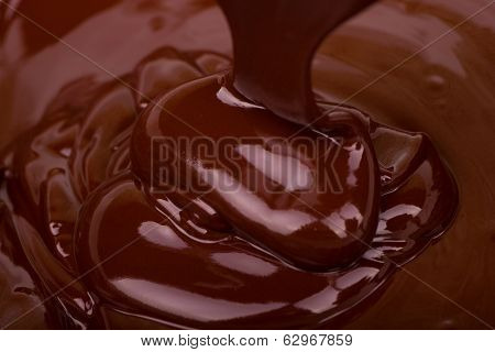 Chocolate Flowing