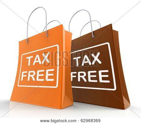 Tax Free Bag Represents Duty Exempt Discounts