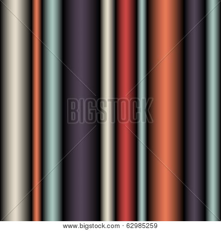 Seamless Abstract Pattern with Lines (Vector)