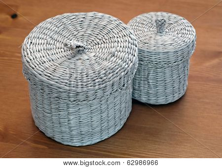 Set Of Seagrass Basket