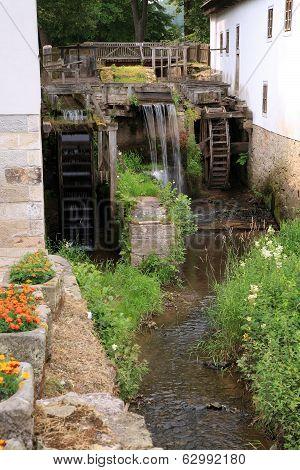 Historic watermill