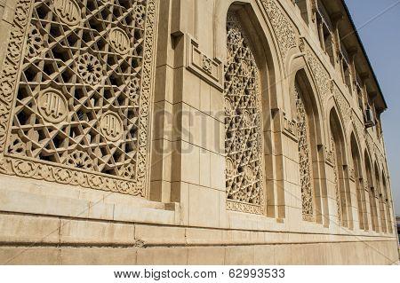 Islamic architecture in mosque Um Al-tobool