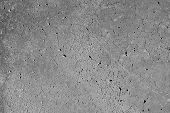 Smooth concrete surface with cracks or veins and some distress. Great for architecture, flooring, hardscapes or industrial designs. poster