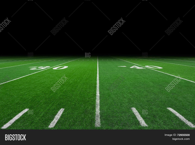 Football Field Image Photo Free Trial Bigstock