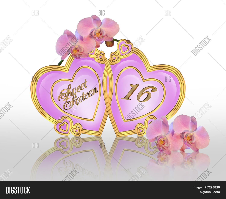 Sweet 16 Afbeelding En Foto Gratis Proefversie Bigstock