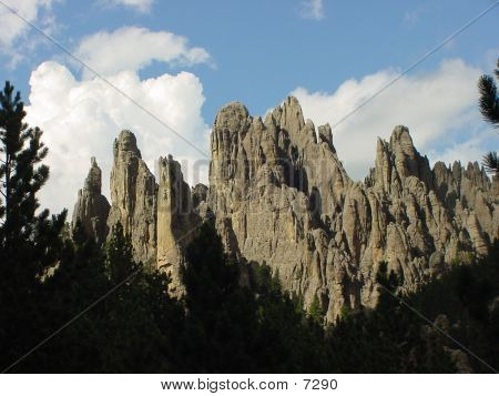 Cathedral Spires  B