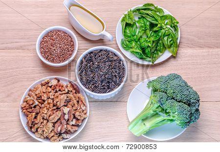 Plant-based Sources Of Omega-3 Acids