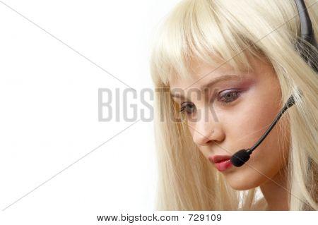Customer Service Blonde