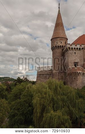 Corvin Castle, Is One Of The Largest Castles In Europe And Figures In A Top Of Seven Wonders Of Romania