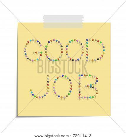 Post Good Job