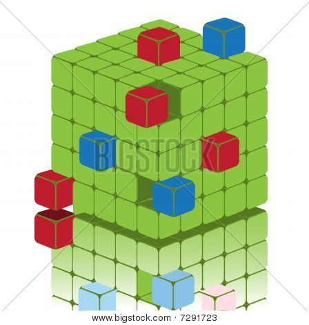 Sectional Cube