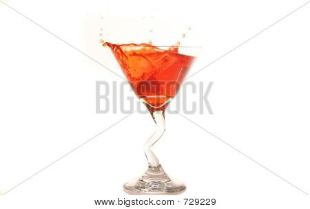 Raspberry Martini Splash