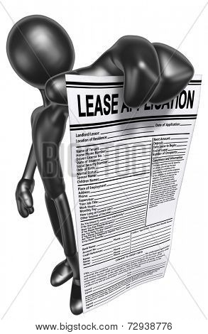 Lease Application poster