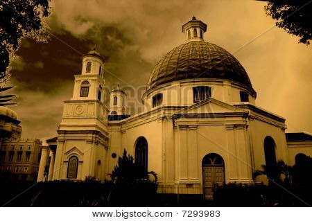 Dome-shaped Roof Church