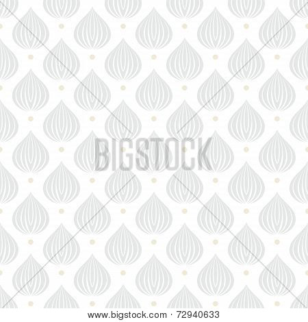 White geometric texture with drops