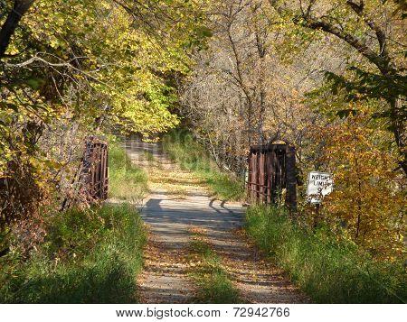 Old country bridge