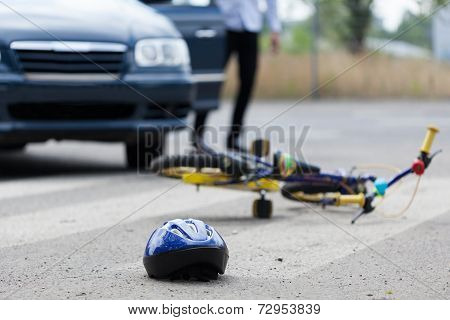 Accident On Pedestrian Crossing