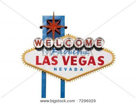 Vegas Sign Isolation