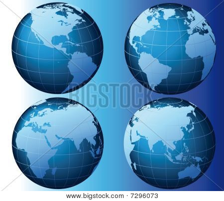 World - Global Set Series - Vector