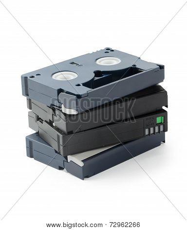 Mini Dv Cassettes Stack