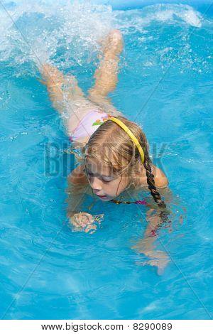 The Girl In Pool