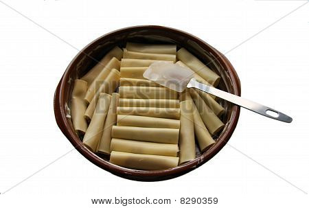 Cooking caneloni